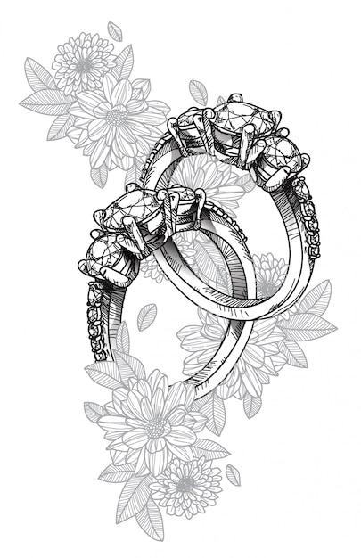 Ring Premium Vector