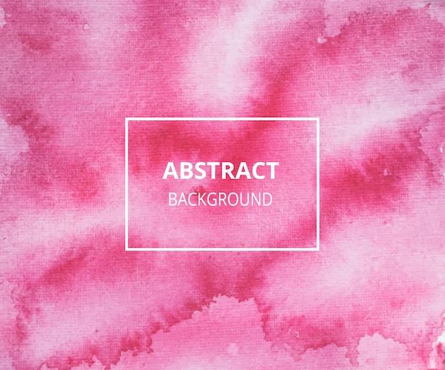 Rode abstracte aquarel textuur achtergrond Premium Vector