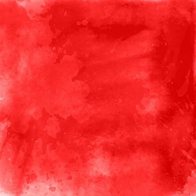 Rode aquarel achtergrond Gratis Vector