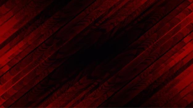Rode crossoverachtergrond met bevlekt samenvatting Premium Vector