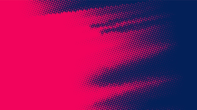 Rode en zwarte diagonale halftone achtergrond Gratis Vector