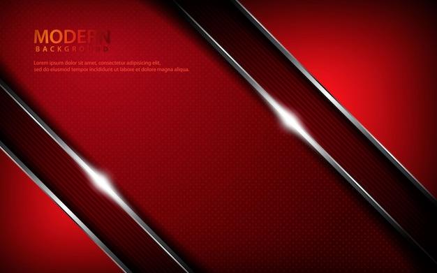 Rode metalen abstracte achtergrond Premium Vector