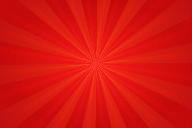 Rode strip cartoon achtergrond. Premium Vector