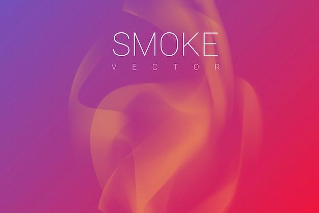 Rokerige roze achtergrond Gratis Vector