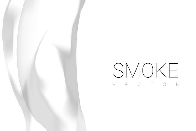 Rook op witte achtergrond Gratis Vector