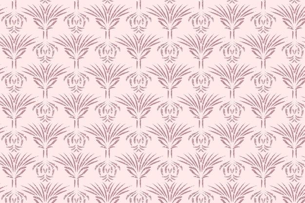 Rose goud art deco naadloze patroon Gratis Vector