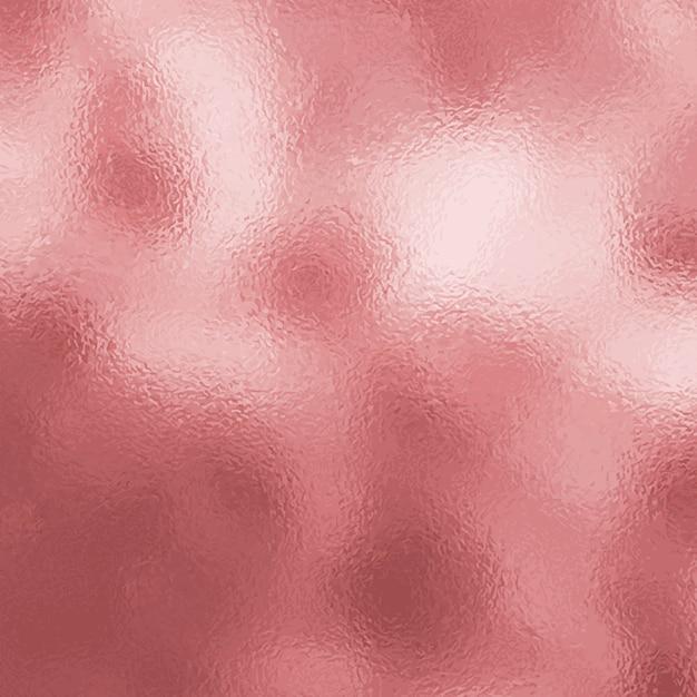 Rose goud metalen textuur achtergrond Gratis Vector