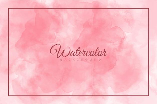 Roze abstract splash verf achtergrond met aquarel textuur Premium Vector