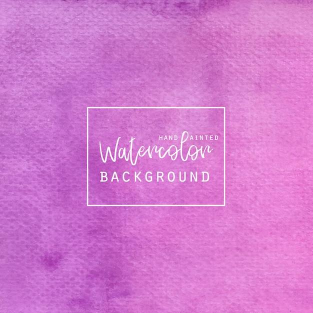Roze en paars gradient aquarel achtergrond Gratis Vector