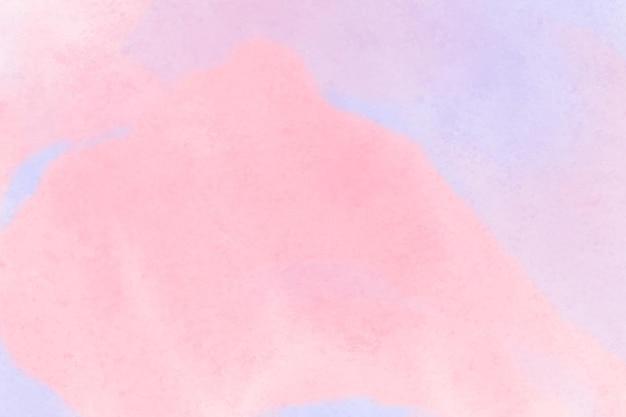 Roze en paarse aquarel achtergrond Gratis Vector