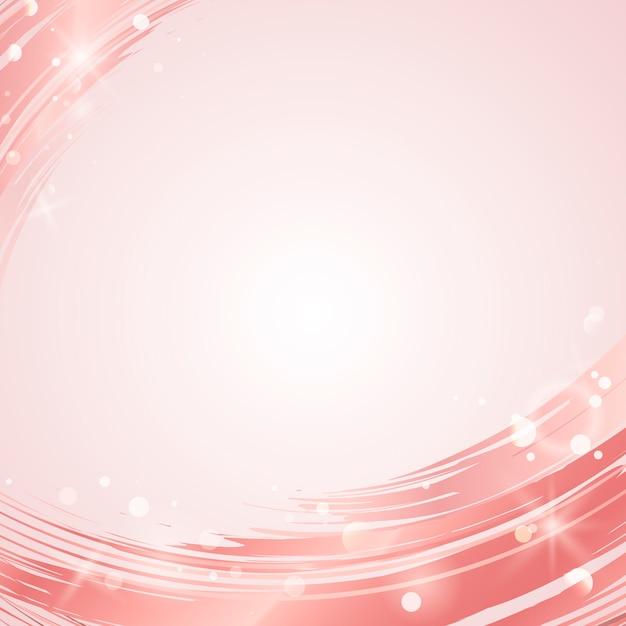 Roze golf abstracte vector als achtergrond Gratis Vector