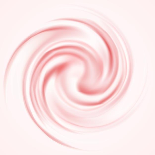 Roze mousse achtergrond Gratis Vector