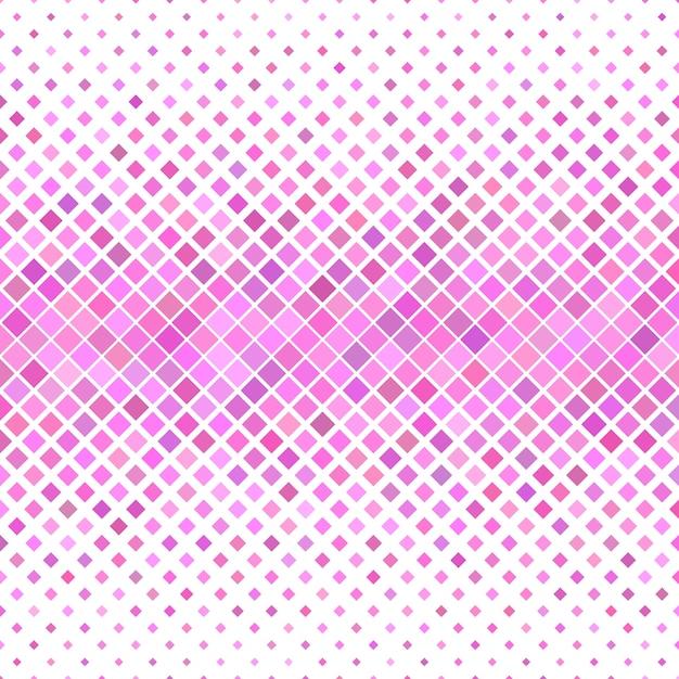 Roze vierkant patroon achtergrond - geometrisch vector ontwerp Premium Vector