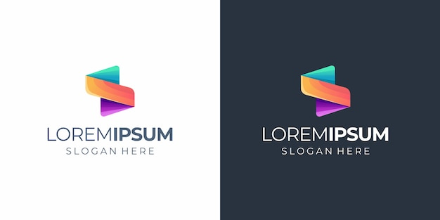S-logo Premium Vector