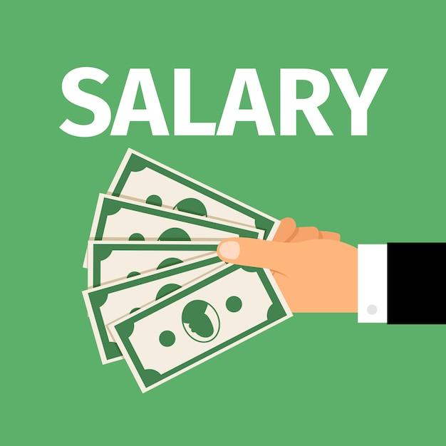 Salarismotivatie Premium Vector