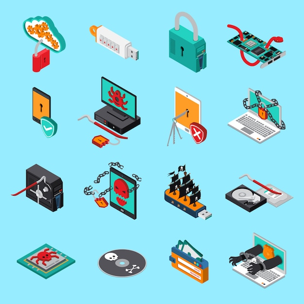 Samenstelling voor hardwarebescherming samenstelling Gratis Vector