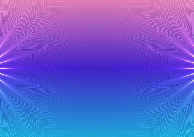 Samenvatting purble en blauwe achtergrond Gratis Vector