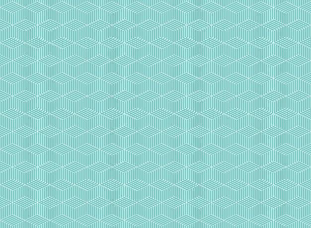 Samenvatting van het blauwe patroon van de streeplijn van zigzagachtergrond Premium Vector