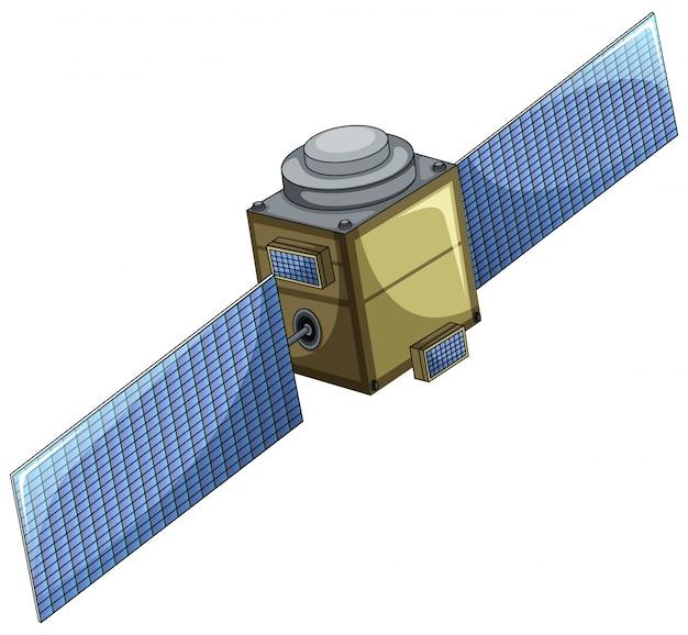 Satelliet Gratis Vector