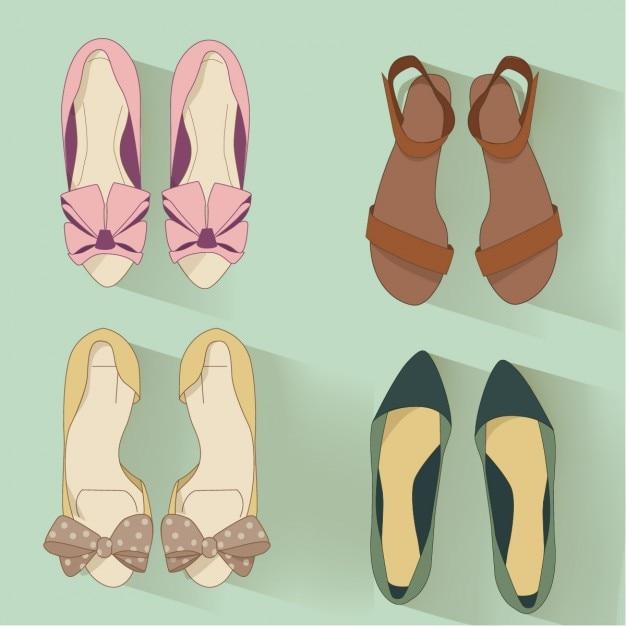 Schoenen Gratis Vector