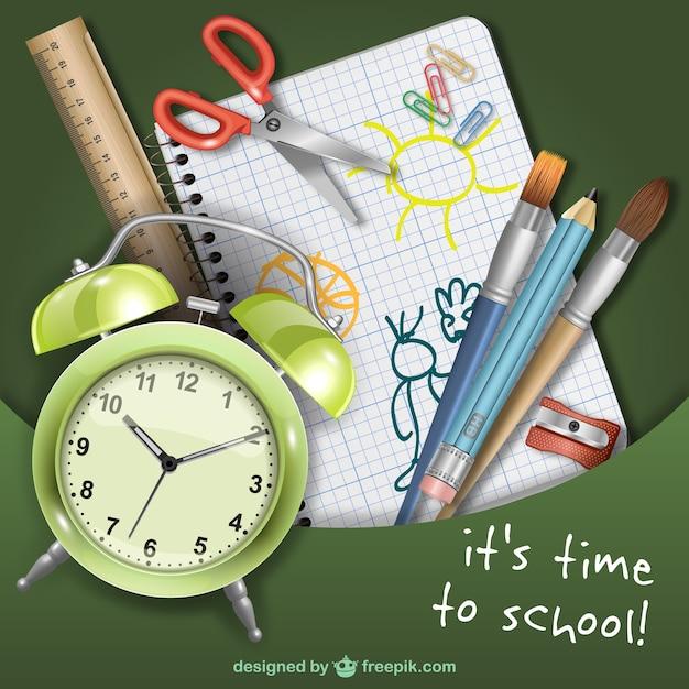 Afbeeldingsresultaat voor school tijd