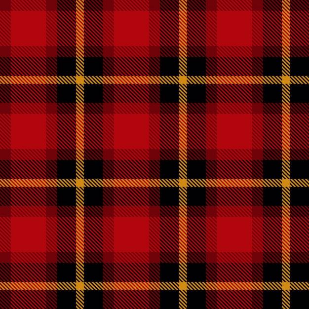 Schotse celstof Premium Vector