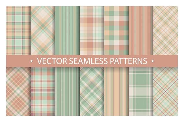 Schotse streep deken achtergrond Premium Vector