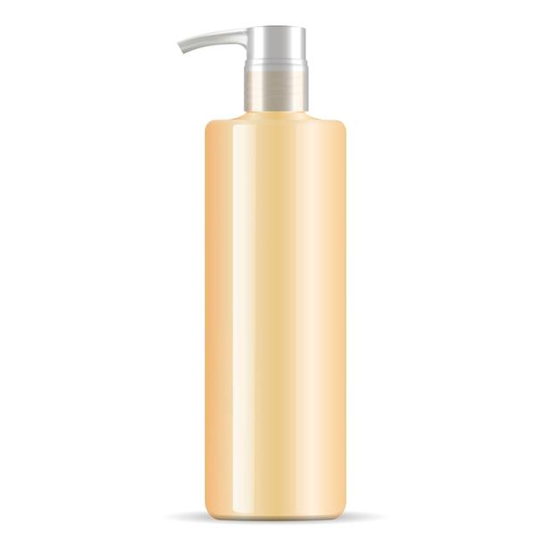 Shampoo conditioner dispenser pompfles Premium Vector