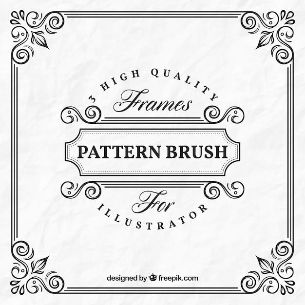 Sier frame template Gratis Vector