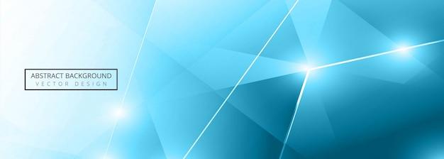 Sjabloon voor abstract veelhoekbanner Premium Vector