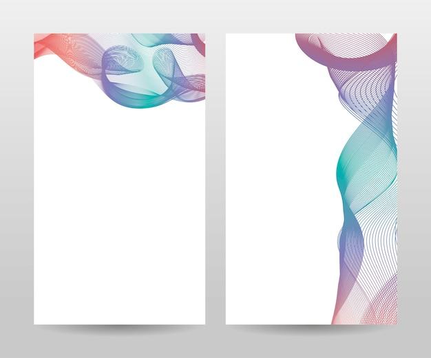 Sjabloon voor brochure, jaarverslag, tijdschrift, poster, bedrijfspresentatie, portfolio, flyer, lay-out modern met blauwe kleur, voor- en achterkant, gemakkelijk te gebruiken en te bewerken. Premium Vector