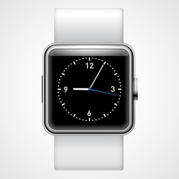 Slim horloge Premium Vector