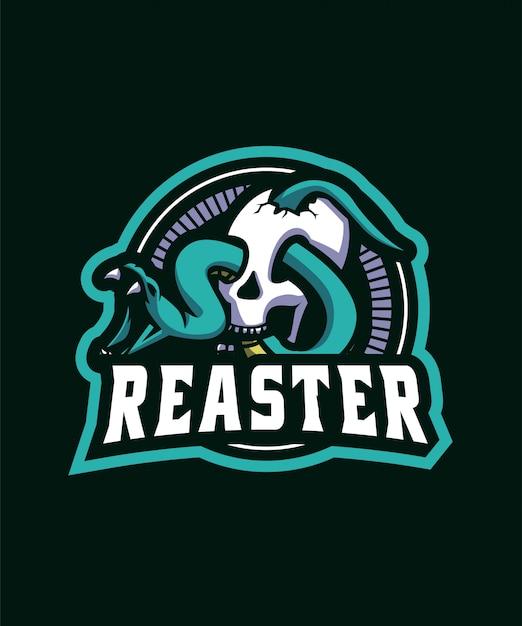 Snake sports-logo Premium Vector