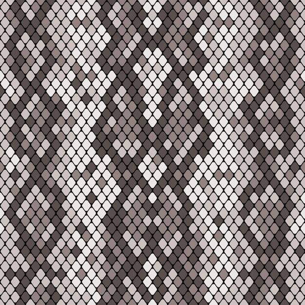 Snakeskin naadloos patroon Premium Vector