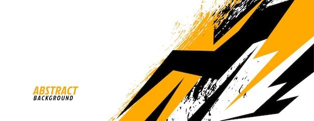 Sorteert racen in geometrisch stijlontwerp Gratis Vector