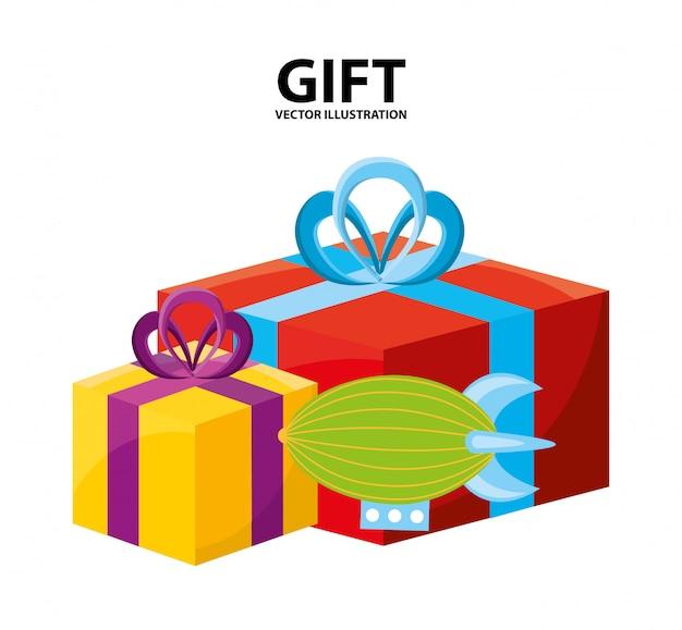 Speelgoed kinder winkel ontwerp Premium Vector