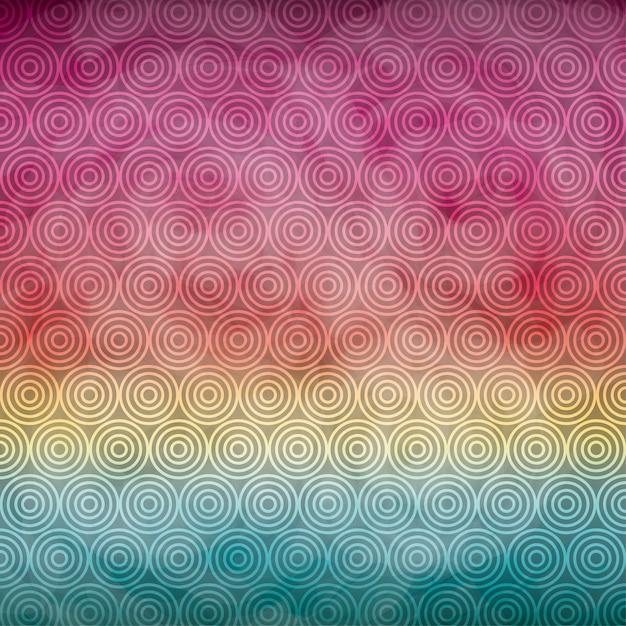 Spiraal achtergrondpictogram. aquarel ontwerp. vector afbeelding Premium Vector