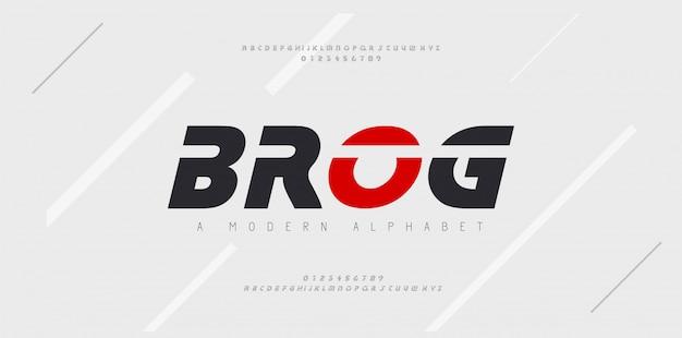 Sport moderne toekomstige cursief alfabet lettertype. typografie stedelijke stijllettertypen voor technologie, digitaal, filmlogo cursief. illustratie Premium Vector