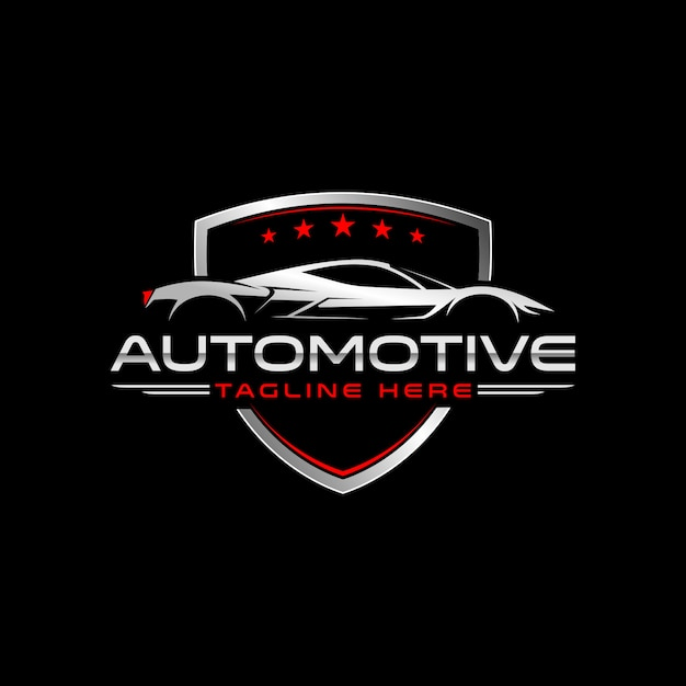 Sportauto Premium Vector