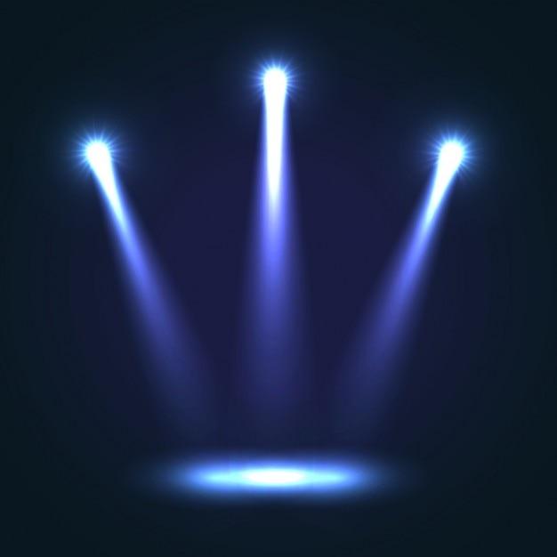 Stage achtergrond ontwerp vector gratis download - Spotlight ontwerp ...