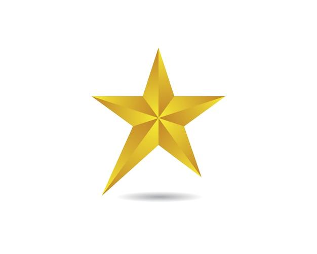Star vector pictogram ontwerp Premium Vector