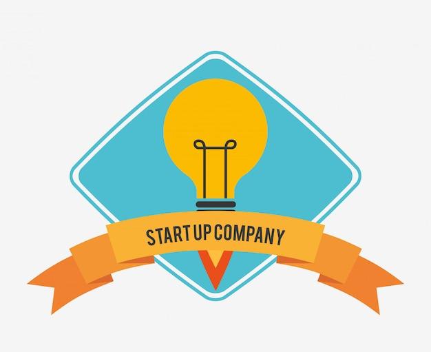 Start concept Gratis Vector