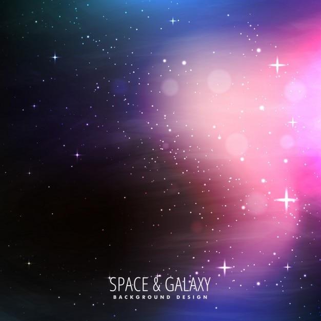 Sterren gevulde heelal achtergrond vector gratis download for Immagini universo gratis
