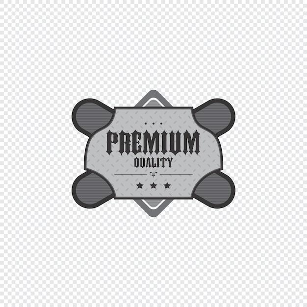 Sticker met productlabels Premium Vector