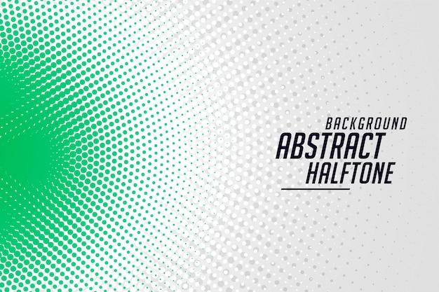 Stijlvol rond halftone banner abstract ontwerp als achtergrond Gratis Vector