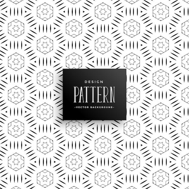Stijlvolle decoratieve patroonachtergrond Gratis Vector