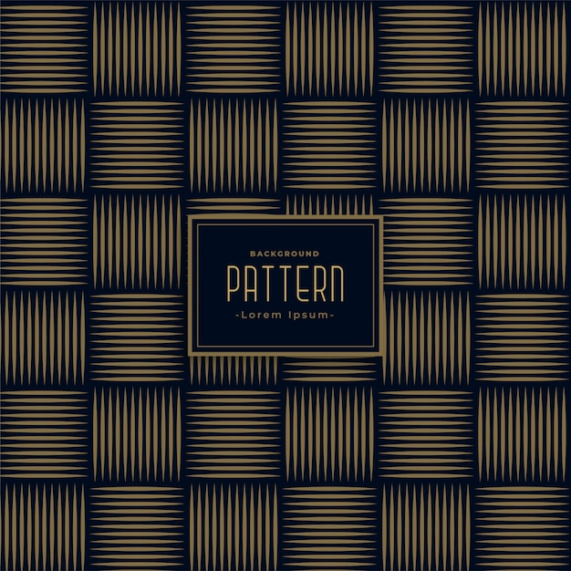 Stijlvolle horizontale en verticale lijnen patroon achtergrond Gratis Vector