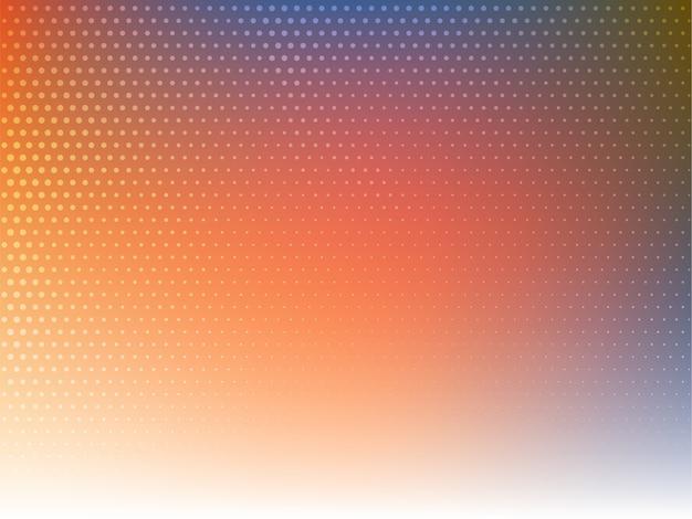 Stijlvolle moderne kleurrijke halftone achtergrond Gratis Vector