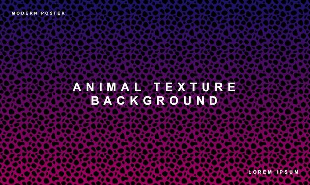 Stippatroon achtergrond dierlijke textuur Premium Vector