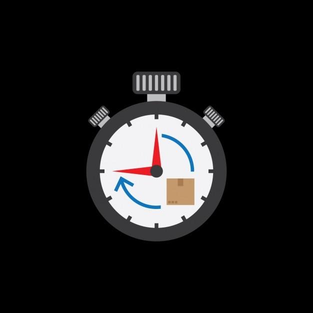Stopwatch ontwerp Gratis Vector